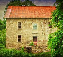 The Prallsville Mill # 2 by Debra Fedchin