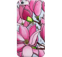Spring Delight ~ Rose Magnolias iPhone Case/Skin