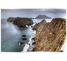 Inspiration Point - Anacapa Island Poster
