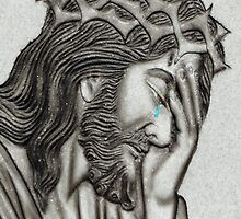 He Cries For Us by Al Bourassa