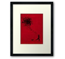the pollock's way Framed Print