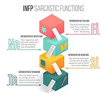 INFP Sarcastic Functions Photographic Print