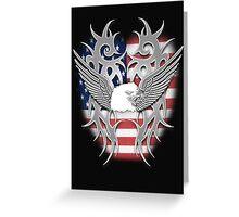 american chrome Greeting Card