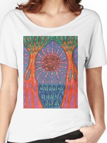 Sun And Trees Women's Relaxed Fit T-Shirt