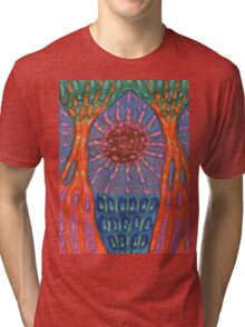 Sun And Trees Tri-blend T-Shirt