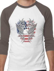 american chrome Men's Baseball ¾ T-Shirt