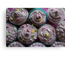 Awesome cup cakes Canvas Print