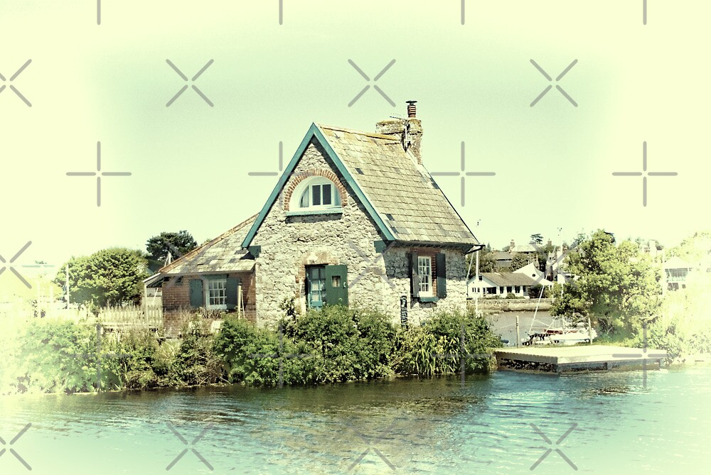 Lock Keepers Cottage by Catherine Hamilton-Veal  ©