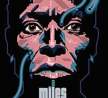 Miles Davis by garthglaz