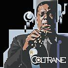 John Coltrane by garthglaz