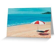 Parasol Greeting Card