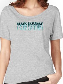 Black Saturday Women's Relaxed Fit T-Shirt