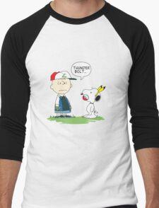 Pokénuts Men's Baseball ¾ T-Shirt