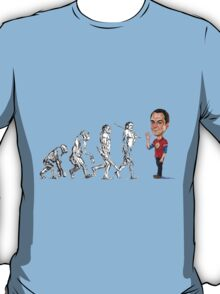 Evolution of Sheldon T-Shirt