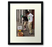 iGots Moves Framed Print