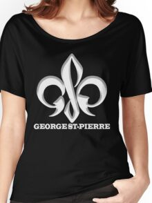 Georges St-Pierre Mixed Martial Arts GSP MMA UFC Champions Women's Relaxed Fit T-Shirt