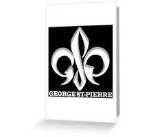 Georges St-Pierre Mixed Martial Arts GSP MMA UFC Champions Greeting Card