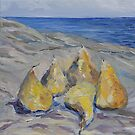 Pears By The Sea  by TerrillWelch