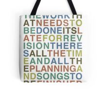 Someone Great - LCD Soundsystem T-Shirt Tote Bag