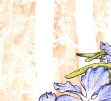 Orchid 4 Sticker