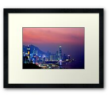 Hong Kong City #6 Framed Print
