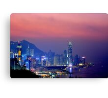 Hong Kong City #6 Canvas Print