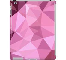 Fandango Purple Abstract Low Polygon Background iPad Case/Skin