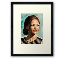 Ms Kristin Framed Print