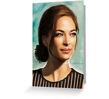 Ms Kristin Greeting Card