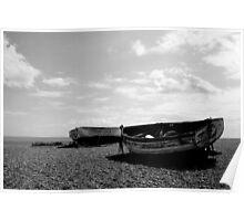 Aldeburgh Beach, Suffolk, UK Poster