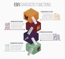 ESFJ Sarcastic Functions One Piece - Short Sleeve