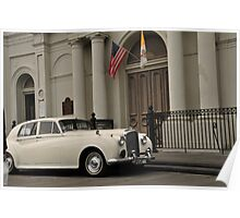 Wedding Transportation Poster