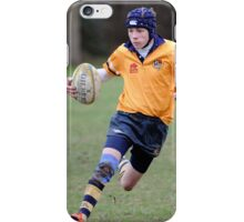 Charlie playing rugby iPhone Case/Skin