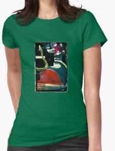 Jazz Quartet Womens Fitted T-Shirt