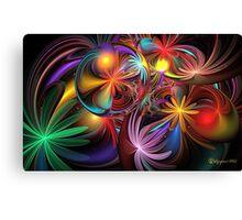 Loonie Sparkles Canvas Print
