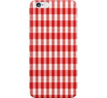 Seamless tablecloth texture iPhone Case/Skin