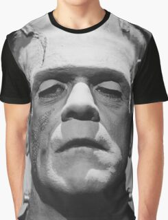 Frankenstein's Monster Karloff Graphic T-Shirt