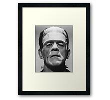 Frankenstein's Monster Karloff Framed Print