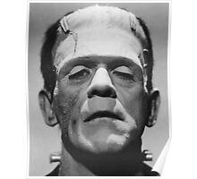 Frankenstein's Monster Karloff Poster