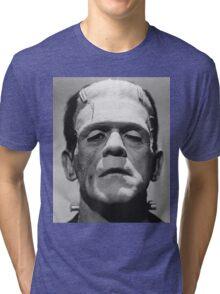 Frankenstein's Monster Karloff Tri-blend T-Shirt