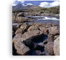 Glen Sligachan, Isle of Skye Canvas Print