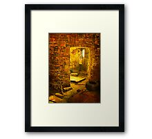 War Torn City Framed Print