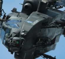 Apache Gunship Sticker