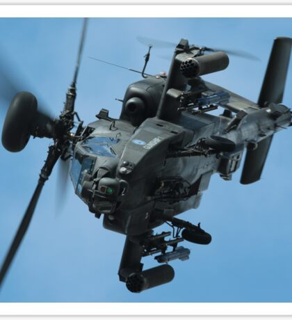 Apache Gunship Sticker