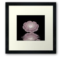 Camille's Waterfall Framed Print