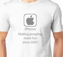 iPhones: Making pooping more fun Unisex T-Shirt