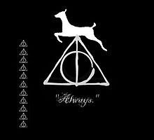 Harry Potter Deathly Hallows Always by aprilisme11