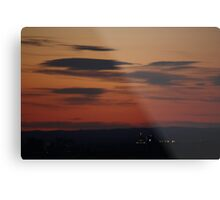 almost down and out Metal Print