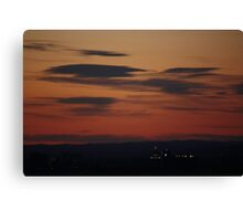almost down and out Canvas Print