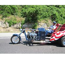 America  Head out on the Highway Photographic Print